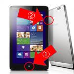 Windows8の小ネタ-タブレットでスクリーンショット