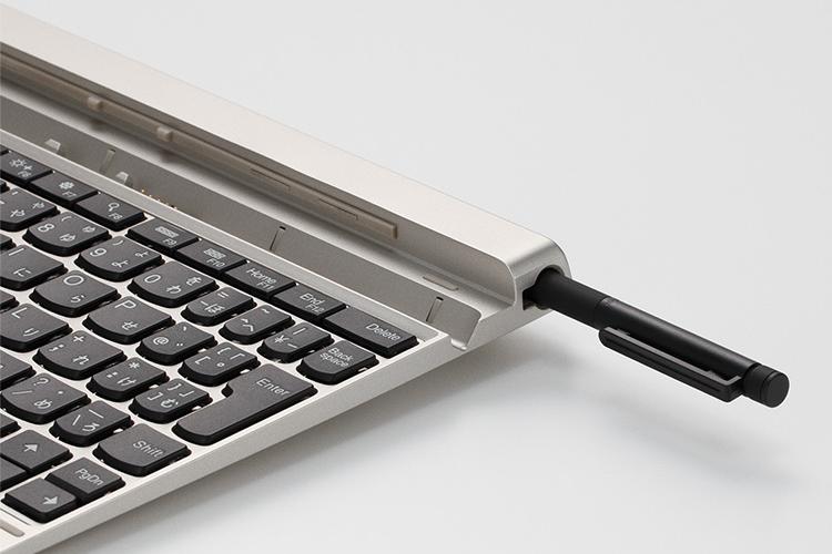 LaVieTabのキーボード