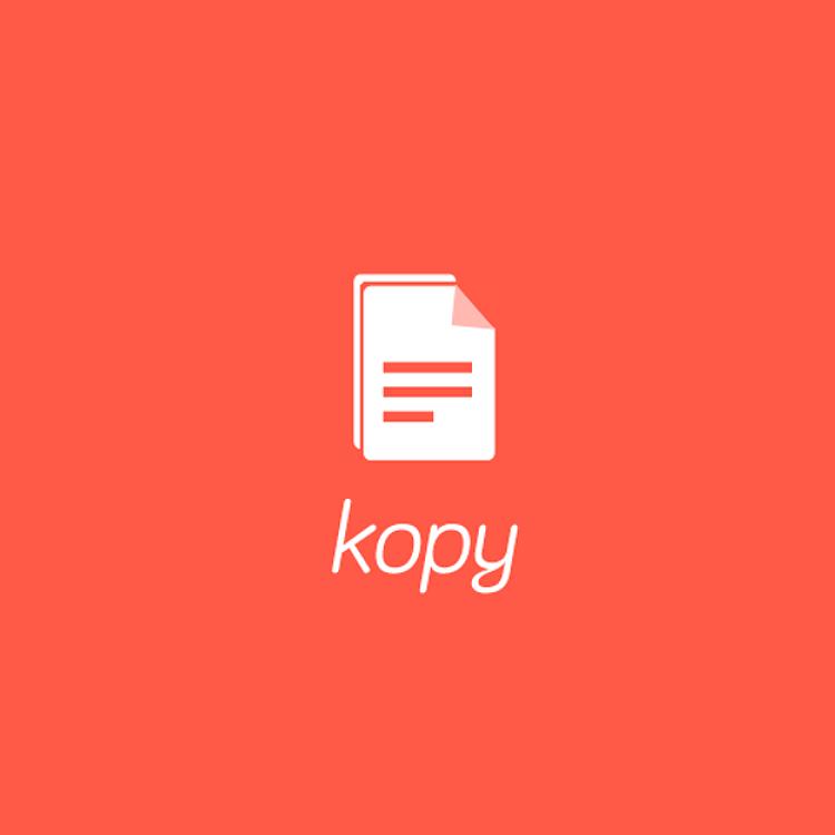 Kopyのロゴ