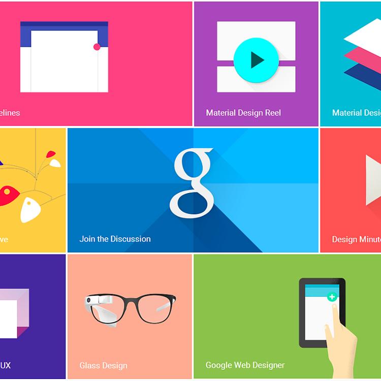 Googleのマテリアルデザイン
