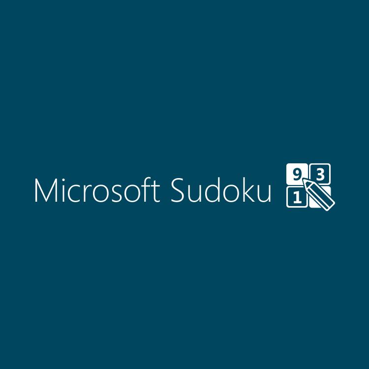 Microsoft Sudoku ロゴ
