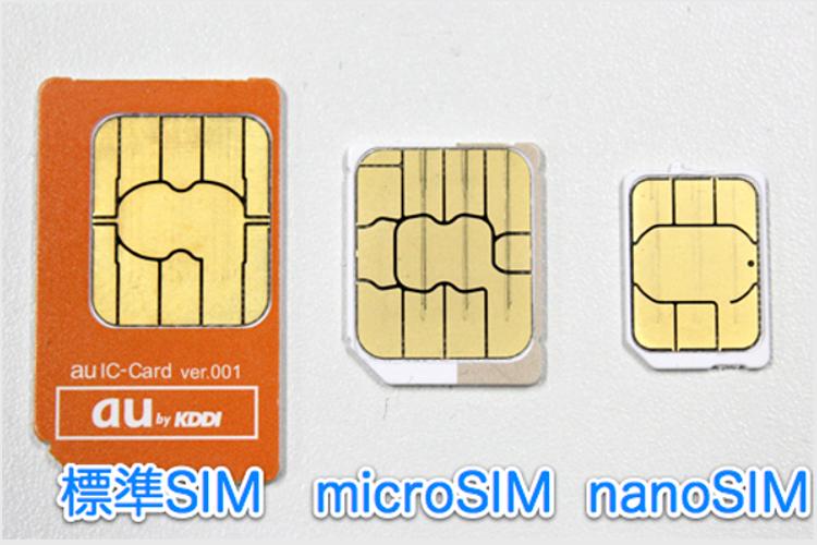 SIMカードいろいろ