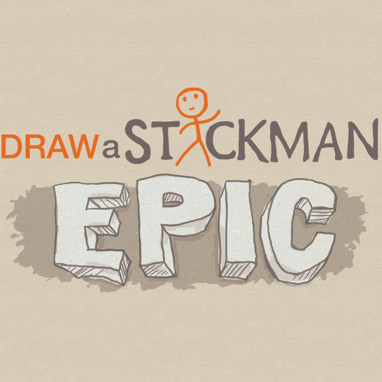 Draw a stickman:EPIC ロゴ
