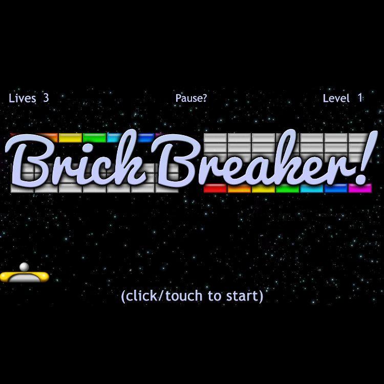 Brick Breaker タイトルロゴ