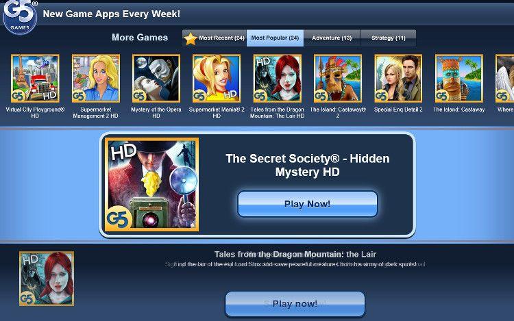 The Secret Society トップ