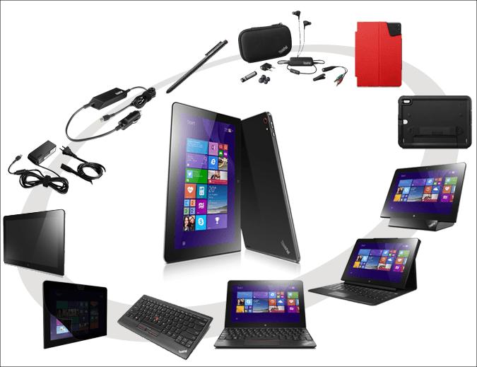 ThinkPad10の豊富なオプション