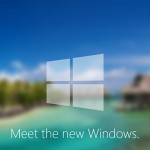 Windows9の超美麗なコンセプト画面をご覧ください