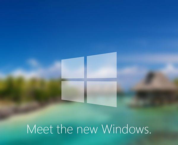 Windows9コンセプト