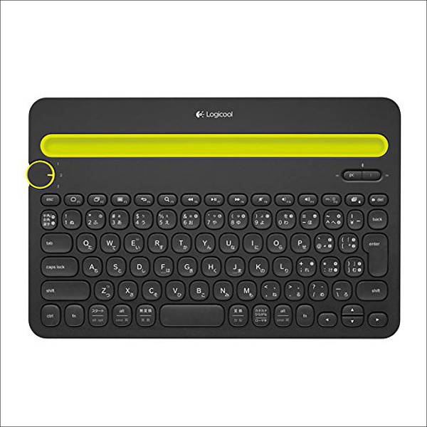 LOGICOOL Bluetooth キーボード k480