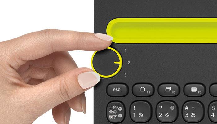 LOGICOOL Bluetooth キーボード  k480 イメージ