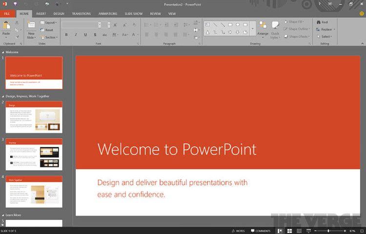 新しいPowerPoint
