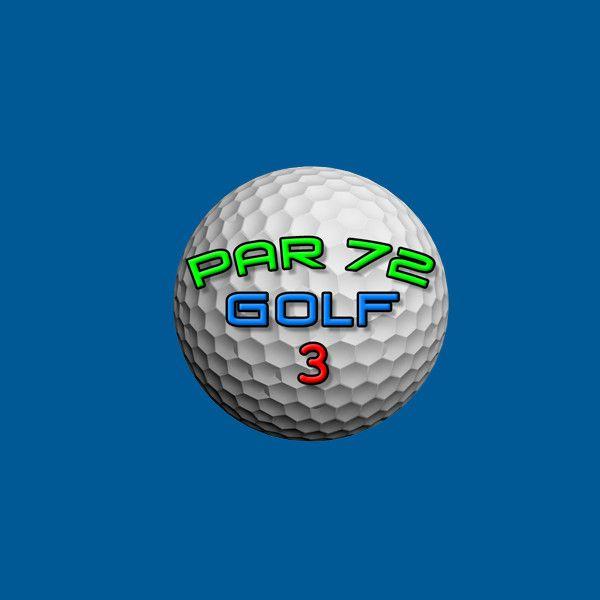 Par 72 Golf タイトルロゴ