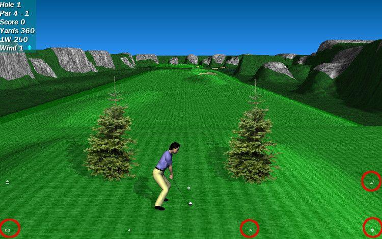 Par 72 Golf スタート