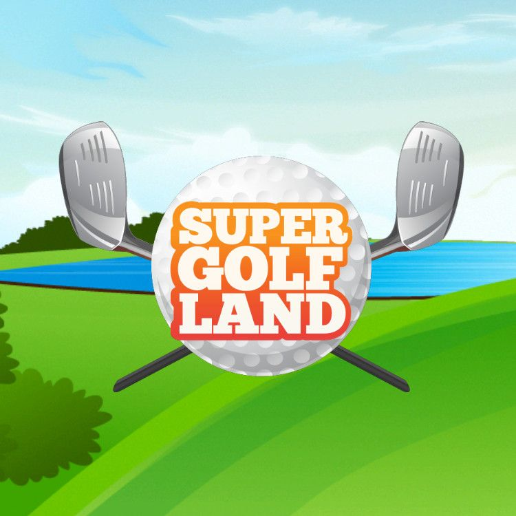 Super Golf Land ロゴ