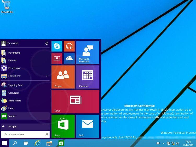 Windows9プレビュー版流出画像2