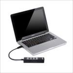 inateck 4ポートUSBハブ HBU3VL2-4 タブレットに必需品の周辺機器