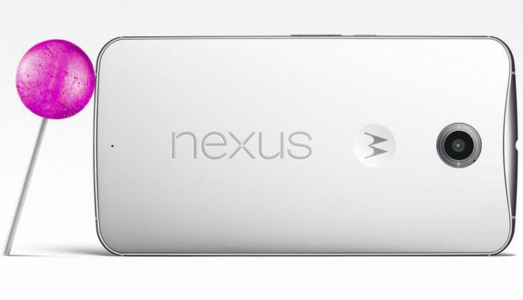 Nexus 6 背面