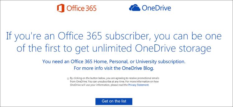 Office365プレビューサイト