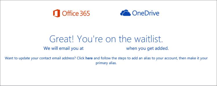 OneDrive容量無制限申し込み完了