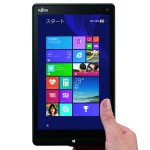 富士通 ARROWS Tab QH33/S 8インチの日の丸Windowsタブレット、個人ユーザー向けに販売開始!