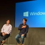 """次期Windowsの名称は""""Windows 10"""" イベント速報、動画もあります"""