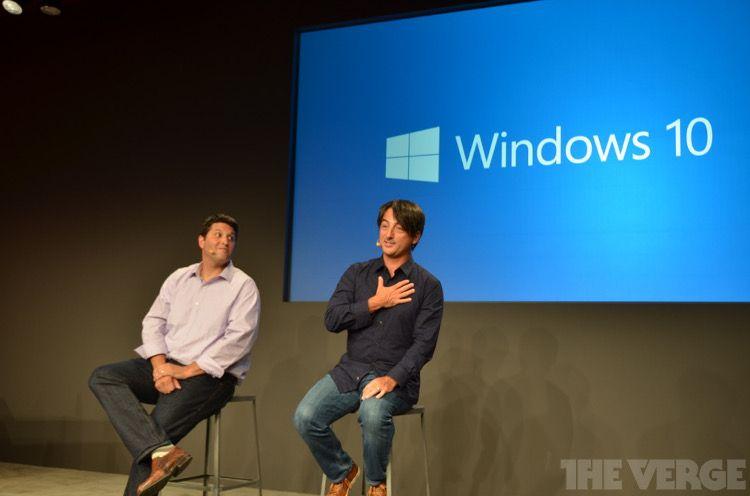 Windows10発表イベント