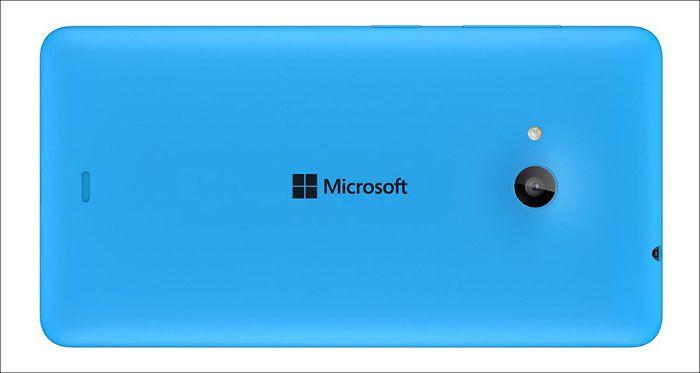 Microsoft Lumia 535 背面
