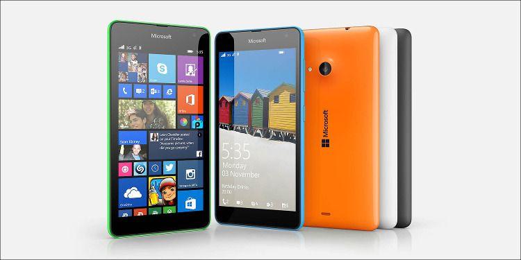 Microsoft Lumia 535 カラバリ