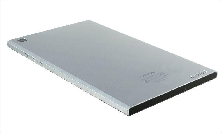 ONKYO 8インチタブレットの八角形デザイン
