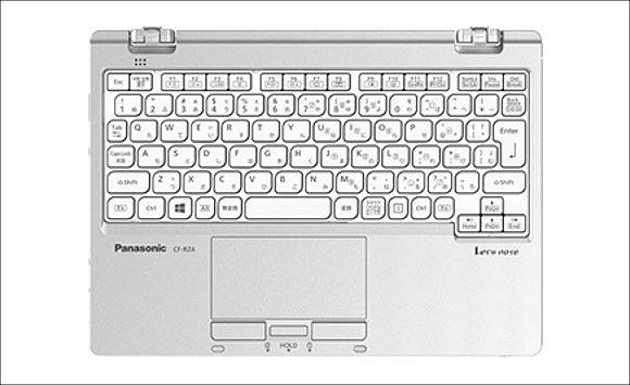 Panasonic Let's note RZ4 キーボード