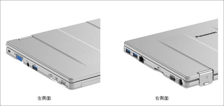 Panasonic Let's note RZ4 側面