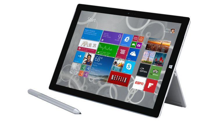 Surface Pro 3 タブレット部分