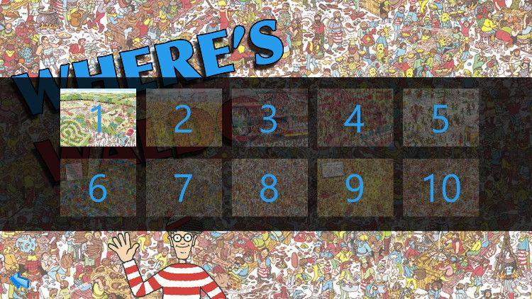 Where's Waldo? ステージ選択