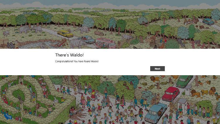 Where's Waldo? ステージクリア
