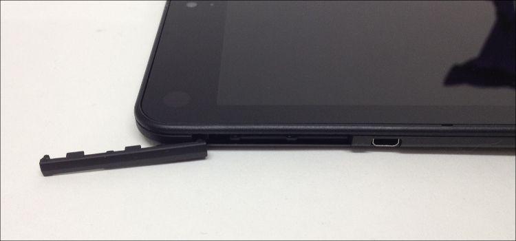 ThinkPad 8 左側面