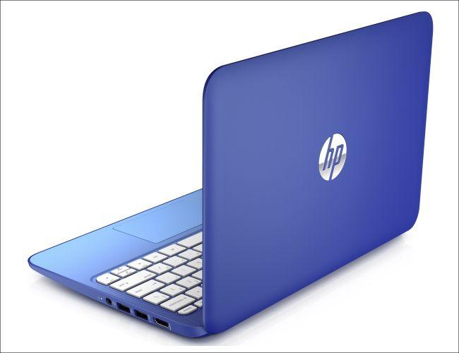 HP Stream 11のキレイなブルー
