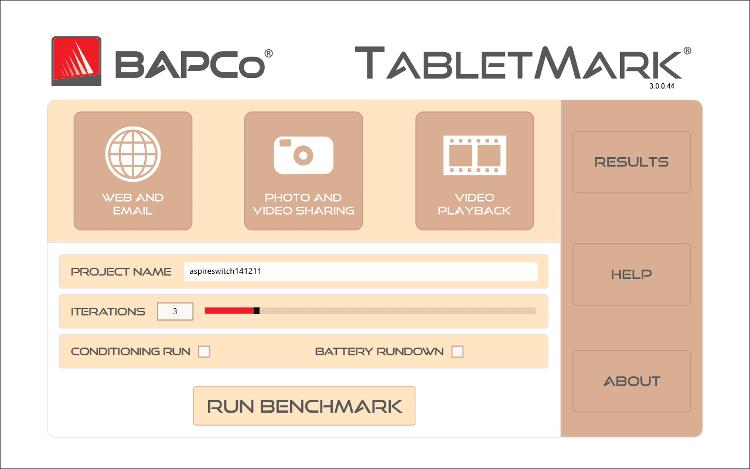 TabletMarkのダッシュボード