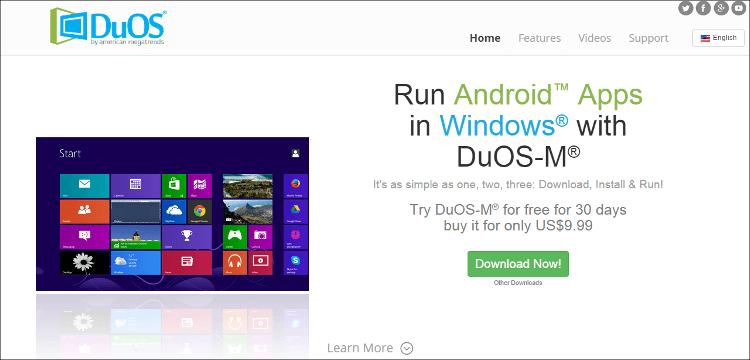 DuOS 公式サイト