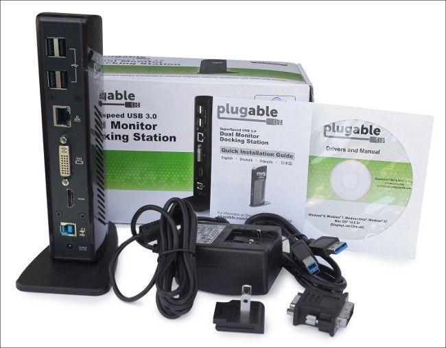 Plugable UD-3900 同梱物