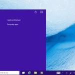 タブレットにWindows 10 Technical Previewをインストールしました