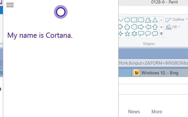 Cortana 質疑応答1