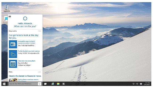 WindowsPCにCortana