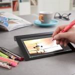 Lenovo YOGA Tabletに「とがったものならなんでも使える」手書き入力機能が追加