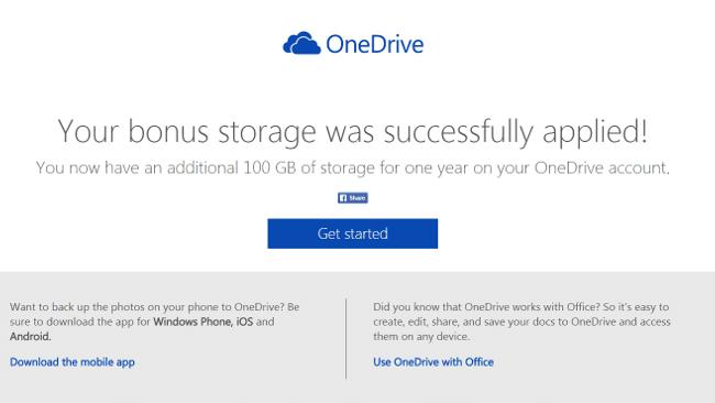OneDrive Dropbox ボーナス4