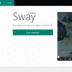 Microsoft SwayのPreview版がアップデートされて、誰でも使えるようになったよ