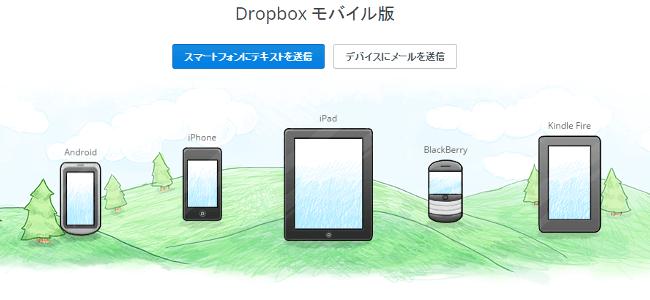 Dropbox 対応デバイス