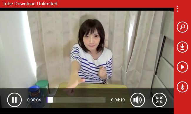 WindowsPhoneでYouTube