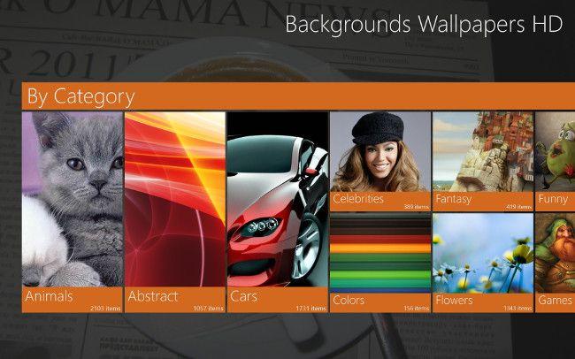 Backgrounds Wallpapers カテゴリー