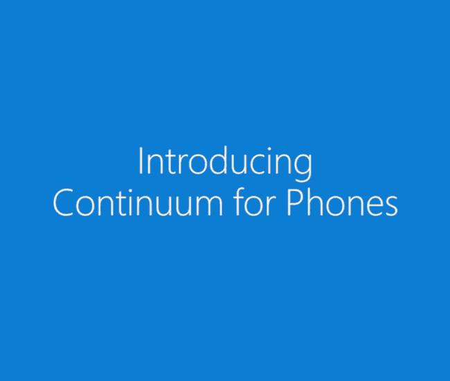 Windows 10の新機能 Continuum