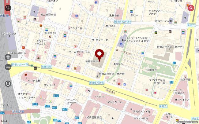 MapFan 地図表示